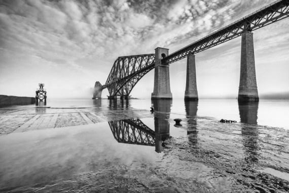 Rail Bridge Reflection
