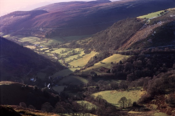Horseshoe Pass Valley